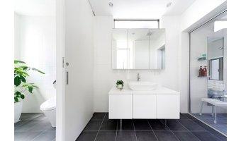 最近増えてきた洗面所と脱衣所を独立させる間取り