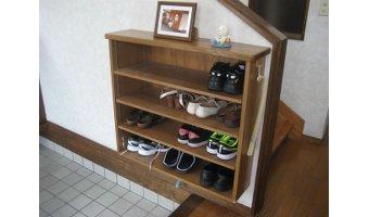 よく履く靴は取り出しやすい場所に