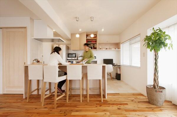 キッチンカウンター兼ダイニングテーブルは検討すべき!メリット・デメリット6選